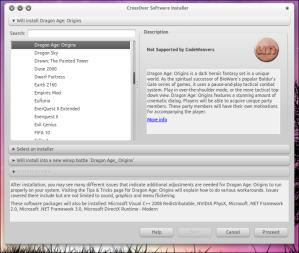 Crossover Software Installer
